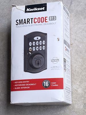 Kwikset Smart code NIB door lock with factory warranty for Sale in Safety Harbor, FL