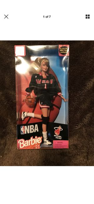 NBA Barbie Miami Heat for Sale in Miami, FL