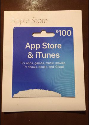 Apple App Store & iTunes for $80 for Sale in North Providence, RI