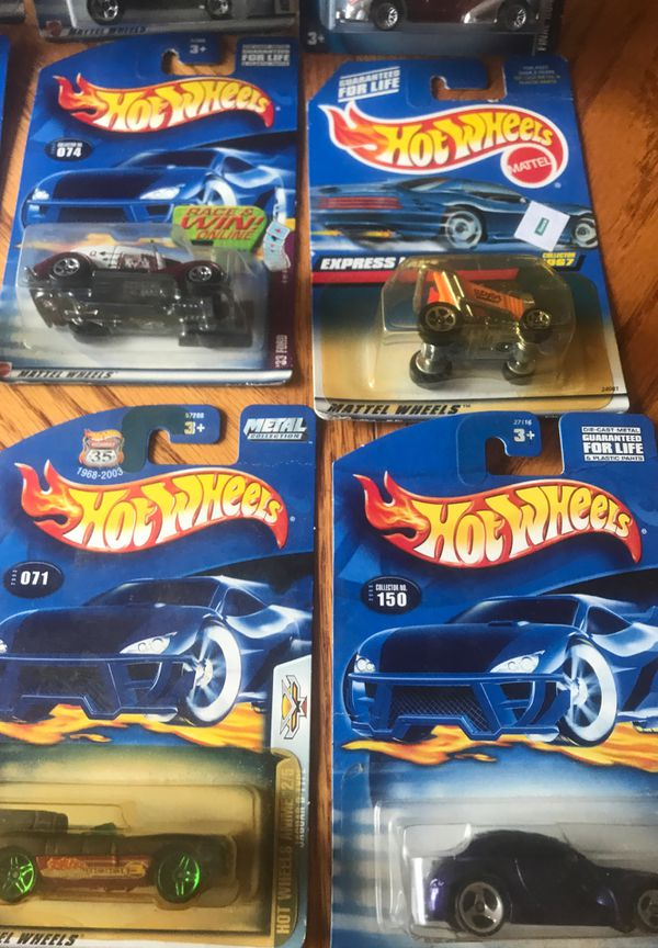 Hot Wheels All Different Cars A Lot of 12 pieces all together