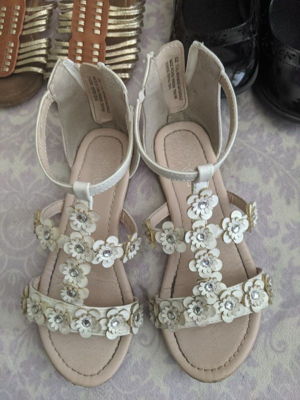 Sandals size 13/ shoes size 1 all good condition $5 each