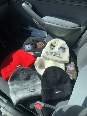 Supreme FW19 Mohair and new era beanies for Sale in Pasadena, CA