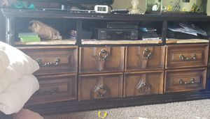 Tv stand with drawers for Sale in Liberty Lake, WA