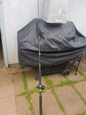 Fishing rod and reel for Sale in Escondido, CA