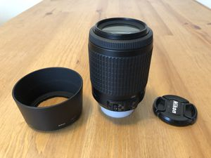 Nikon Nikkor 55-200mm f/4.0-5.6 AF-S DX G ED Lens - Black for Sale in Los Angeles, CA