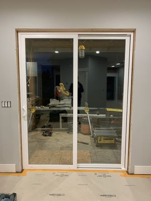 Mill guard Tuscany sliding glass door for Sale in Lynnwood, WA