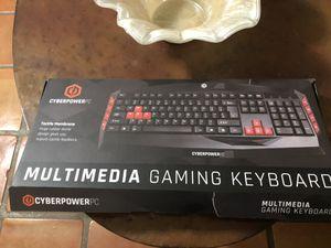 Cyberpower gaming keyboard for Sale in Yuma, AZ
