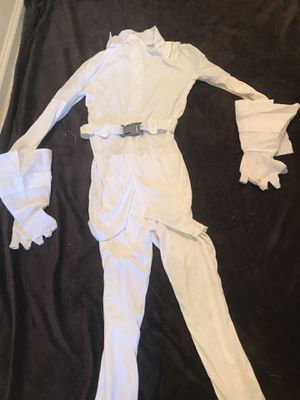 White Ninja kid costume (6 - 8 years) missing mask for Sale in Antioch, CA
