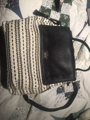 Kate Spade straw backpack purse for Sale in Palm Harbor, FL