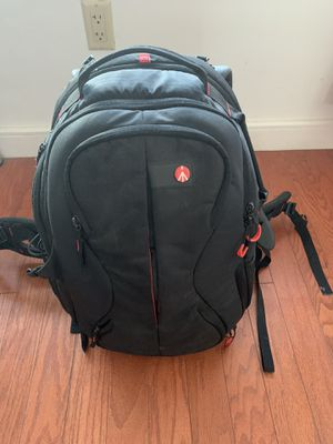 Manfrotto camera traveling backpack for Sale in Jersey City, NJ