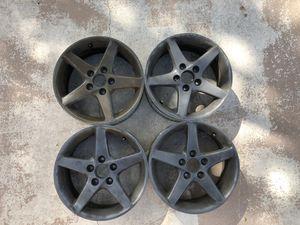 """Acura RSX Type S 16"""" Rims Plastidipped w/center caps for Sale in Boca Raton, FL"""