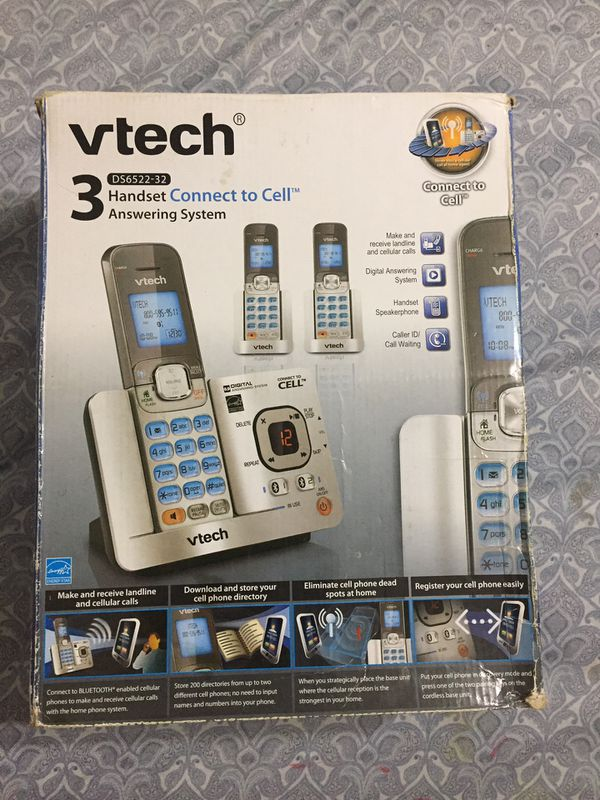 Vtech cordless Phone set : Costco