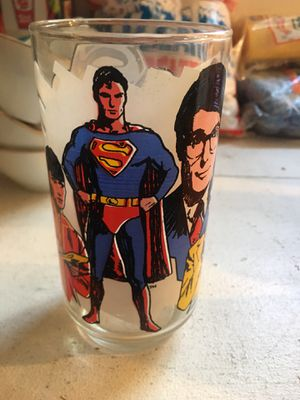 Superman glass for Sale in Twinsburg, OH