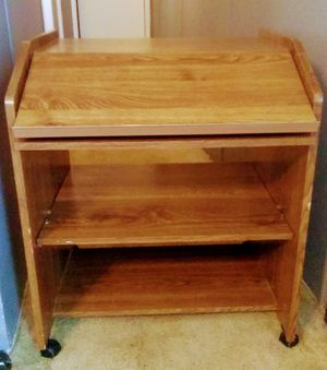 """TV stand with casters 28""""W 33""""H"""" 26D for Sale in Taylors, SC"""