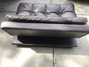 Leather dog couch for Sale in Denver, CO