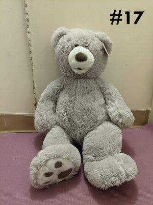 Hugfun 25 Inch Super Soft grey Teddy Bear for Sale in Boston, MA