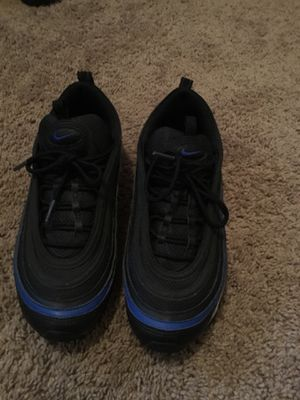 Black and blue Air max 97 size 8 for sell for Sale in Washington, DC