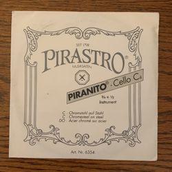 Pirastro Piranito 3/4-1/2 Cello C String New for Sale in Highland,  IL
