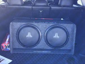 "2 12"" JL Audio BassWedge for Sale in Littleton, CO"