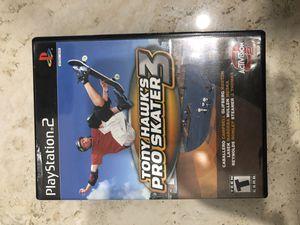Tony Hawk's Pro Skater 3 Playstation 2 for Sale in Davie, FL