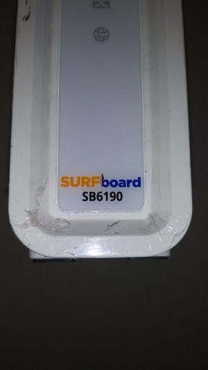 Arris surboard xfinity cable modem sb6190 for Sale in Glencoe, IL