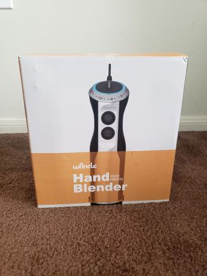 Hand Blender (Wancle) 500 Watt with Speed Control LED Blue Backlight for Sale in Santa Ana, CA