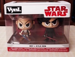 Brand new sealed never opened mint in box funko vynl star wars set firm pick up in (Fontana) for Sale in Fontana, CA