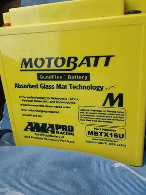 Motorcycle four-wheeler battery for Sale in Saint Petersburg, FL