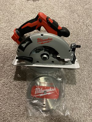 Milwaukee M18 2631-20 18-Volt 7-1/4-Inch Brushless Circular Saw - Bare Tool for Sale in Melbourne, FL