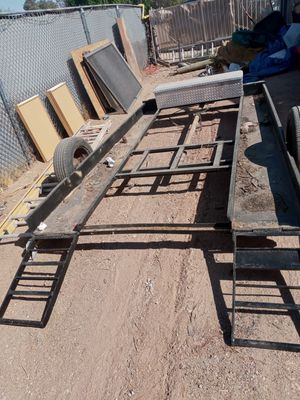 Toy trailer small rail or motorcycles for Sale in Mesa, AZ