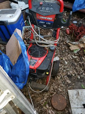 Troy buolt 2700 psi pressure washer for Sale in Spring Valley, CA