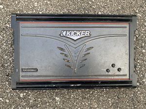 Kicker ZX1000.1 Amplifier for Sale in Indianapolis, IN