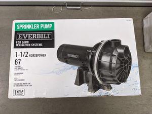1-1/2 HP Lawn Sprinkler Pump by Everbilt for Sale in Norwalk, CA