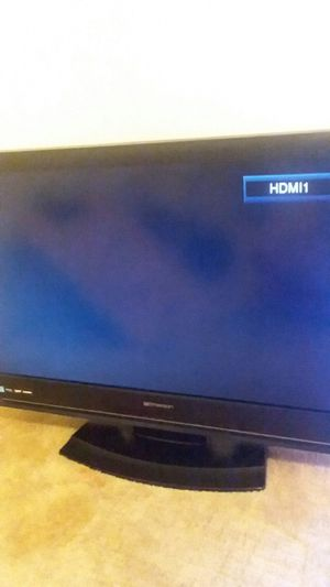 Two tv bundle they both only come with power cord small one has a mark on it for Sale in Denton, TX