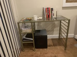 Glam gold and glass desk for Sale in Livermore, CA