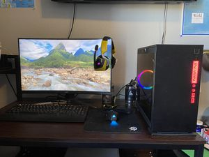 Entire PC gaming setup SKYTECH legacy mini for Sale in Boulder, CO