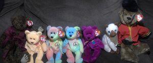 90's Error Beanie Babies - 2 peace bears for Sale in Walnut Creek, CA