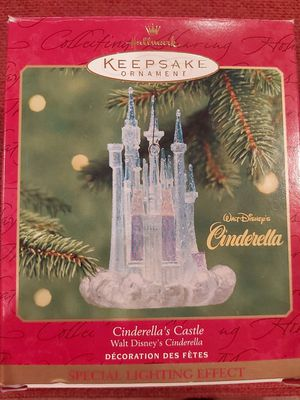 Hallmark Ornament Cinderella's Castle for Sale in Branford, CT