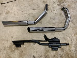 "Harley Davidson Python 3"" Chrome exhaust system for Sale in Annandale, VA"