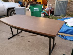 BARRICK FOLDING CONFERENCE TABLE for Sale in Burleson, TX