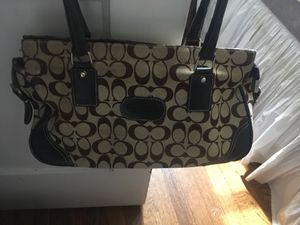 Coach designer purse for Sale in Grosse Pointe Park, MI