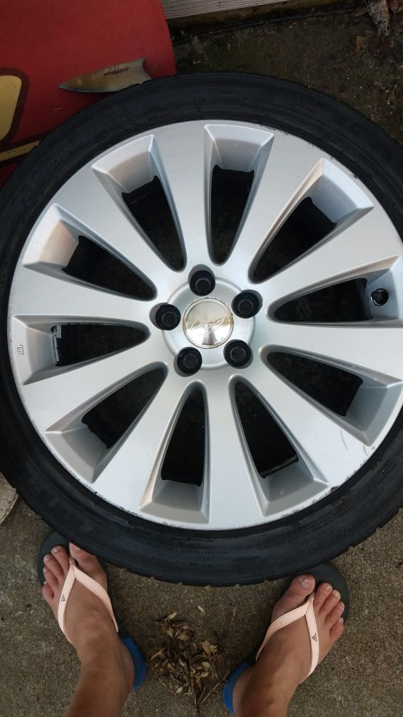FourTires 215-45-17 and wheels