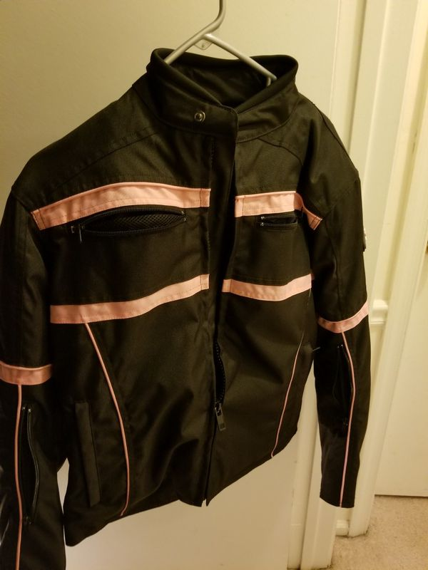Like New - Make me a reasonable offer! Women's motorcycle jacket and helmet