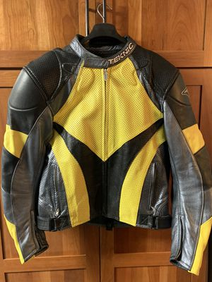 Teknic Leather Motorcycle Jacket for Sale in Wayne, IL