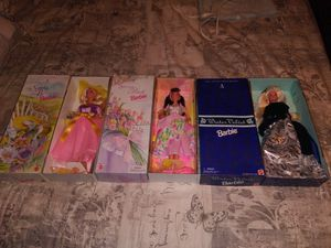 3 collectable Barbie dolls for Sale in Fresno, CA