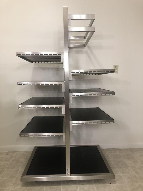 Restaurant Mobile Shelving Unit