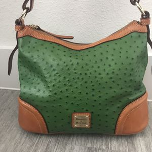 Dooney And Bourke 75th Anniversary Ostrich Embossed Hobo Bag for Sale in Georgetown, TX