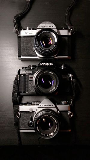 35mm Film Cameras (Pentax, Minolta, Olympus) for Sale in Pomona, CA