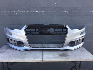 Audi A6 S Line Front Bumper Cover OEM 2012 2013 2014 2015 for Sale in Los Angeles, CA