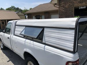 Truck cap for long bed small pickup for Sale in Loganville, GA